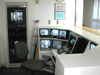 Commercial Security Camera System Monitoring Room